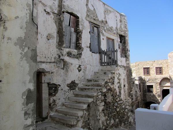 Chóra, Naxos, août 2013.