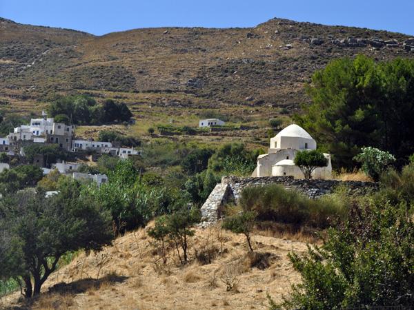 Koronidha, Naxos, août 2013.