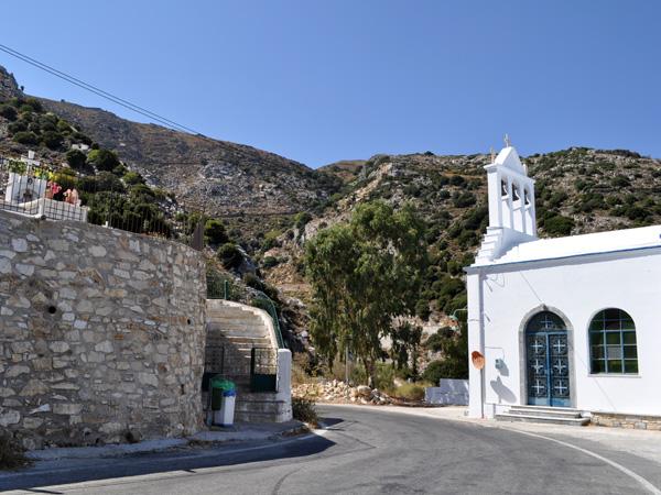 Près de Koronos, Naxos, août 2013.