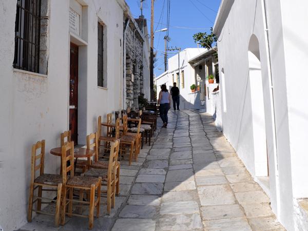 Apiranthos, Naxos, août 2013.