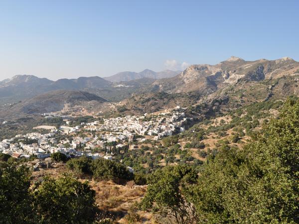 Filoti, Naxos, août 2013.