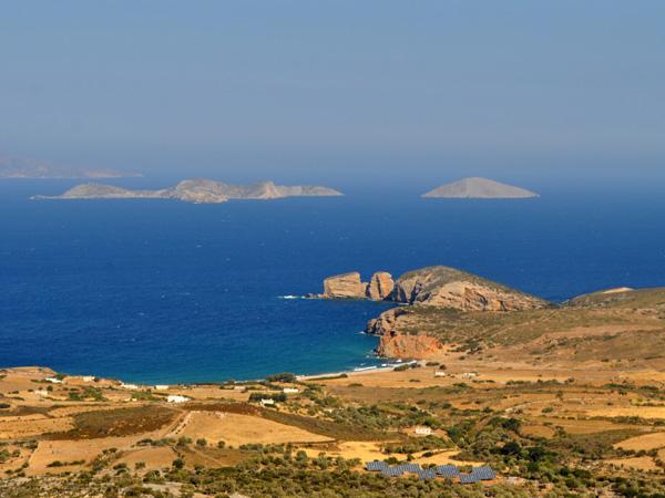 Naxos, août 2013. Cap Stavros, à côté de Moutsouna.