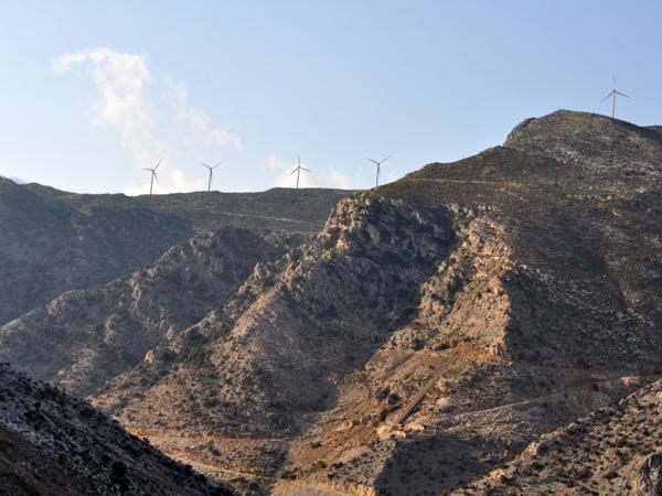 Près de Moutsouna, Naxos, août 2013.