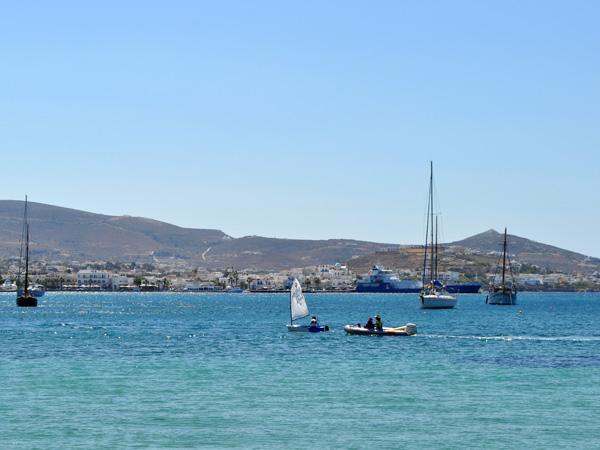 Au nord de la baie de Livadhia, Paros, septembre 2013.