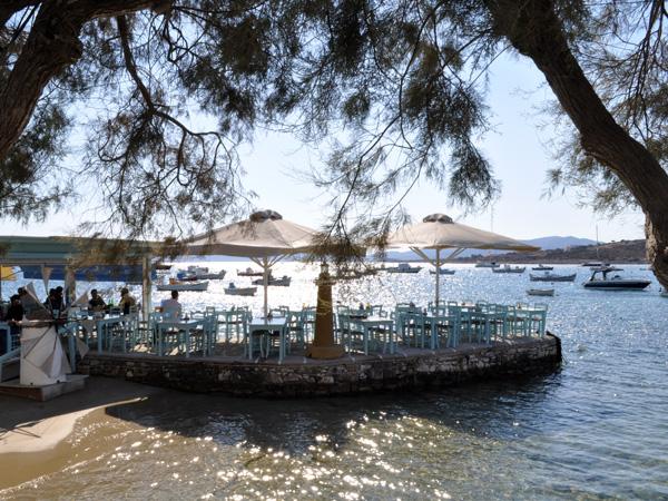 Alyki, au sud-ouest de l'île. Paros, septembre 2013.