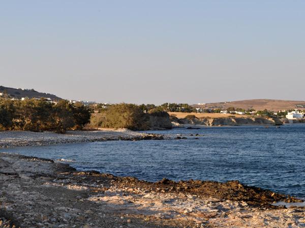 Près de Dhryos, au sud-est de Paros, septembre 2013.