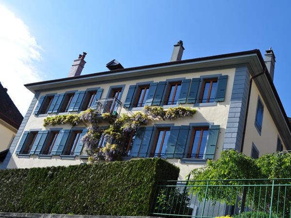 Chardonne (Lavaux), aux portes de Vevey et de la Riviera, mai 2014.