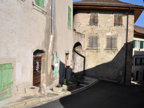 Riex, village vigneron de Lavaux, mai 2014.