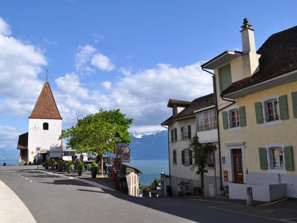Winegrowers village of Grandvaux (Lavaux), May 2014.