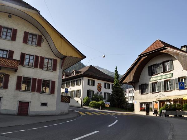Frutigen, Berner Oberland, juin 2014.