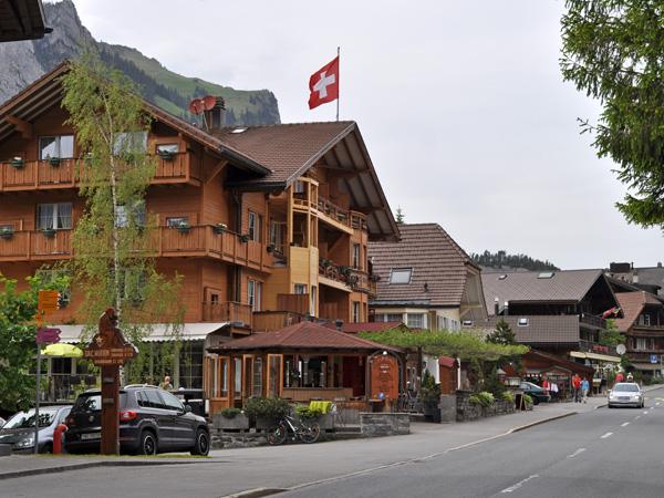 Kandersteg, Berner Oberland, juin 2014.