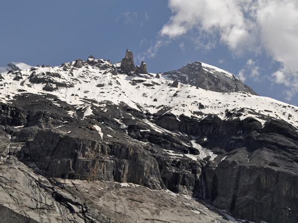 Oeschinensee (Kandersteg), Berner Oberland, juin 2014.