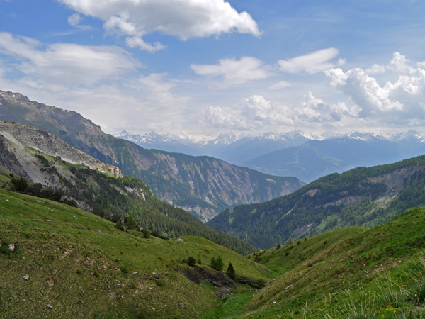 Sanetsch mountain pass area, June 2014. Road and restaurants open only from June till September.