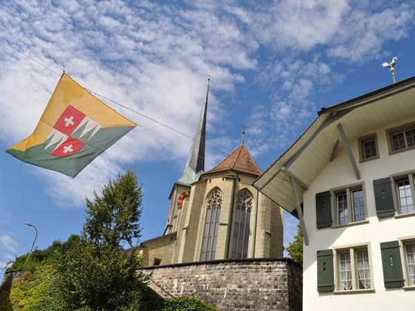 Burgdorf (Berthoud), aux portes de l'Emmental, août 2014.