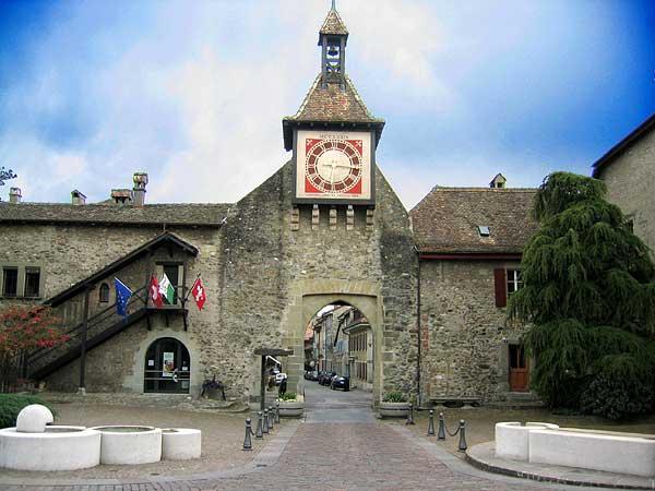 Le village de St-Prex, sur La Côte.