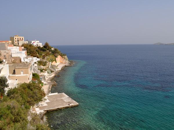 Le quartier de Vaporia, à Ermoupoli (île de Syros), capitale administrative des Cyclades, 2012.