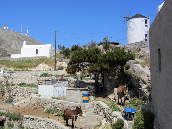 Syros, plaque tournante et capitale administrative des Cyclades, 2012.