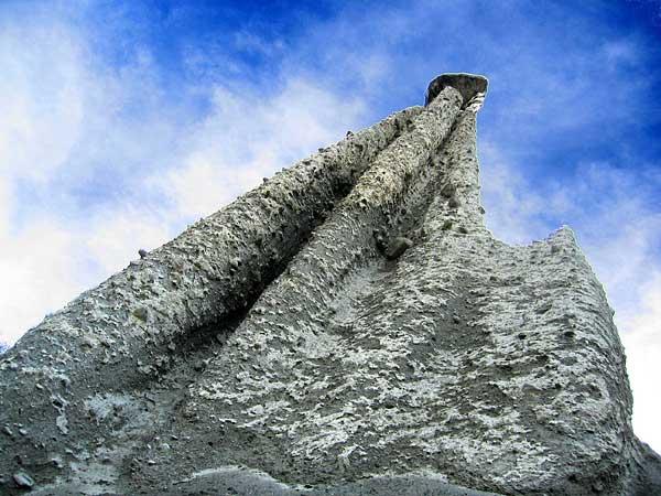Les Pyramides d'Euseigne, au Val d'Hérens (Valais).