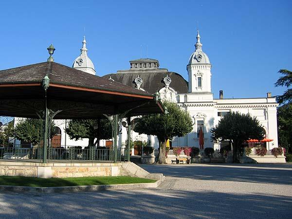 Yverdon-les-Bains: le Casino.